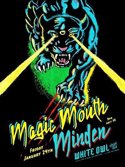 Magic mouth amp minden tickets white owl social club portland or
