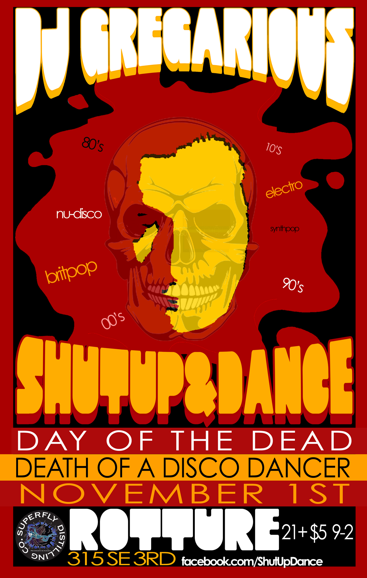 Shutup and dance tickets rotture portland or november 1 2013
