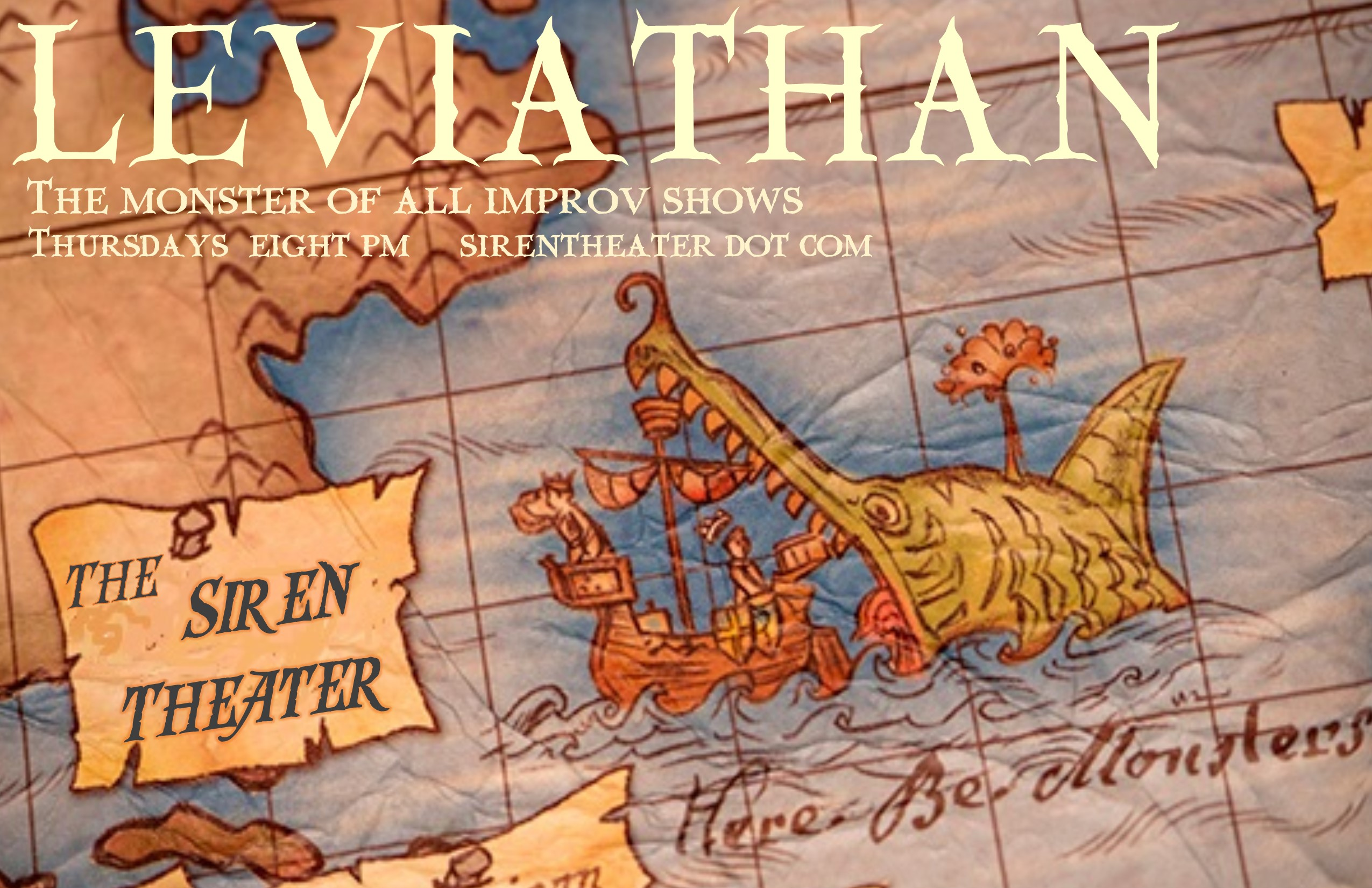 Leviathan at the Siren Theater With guest monologist Michelle