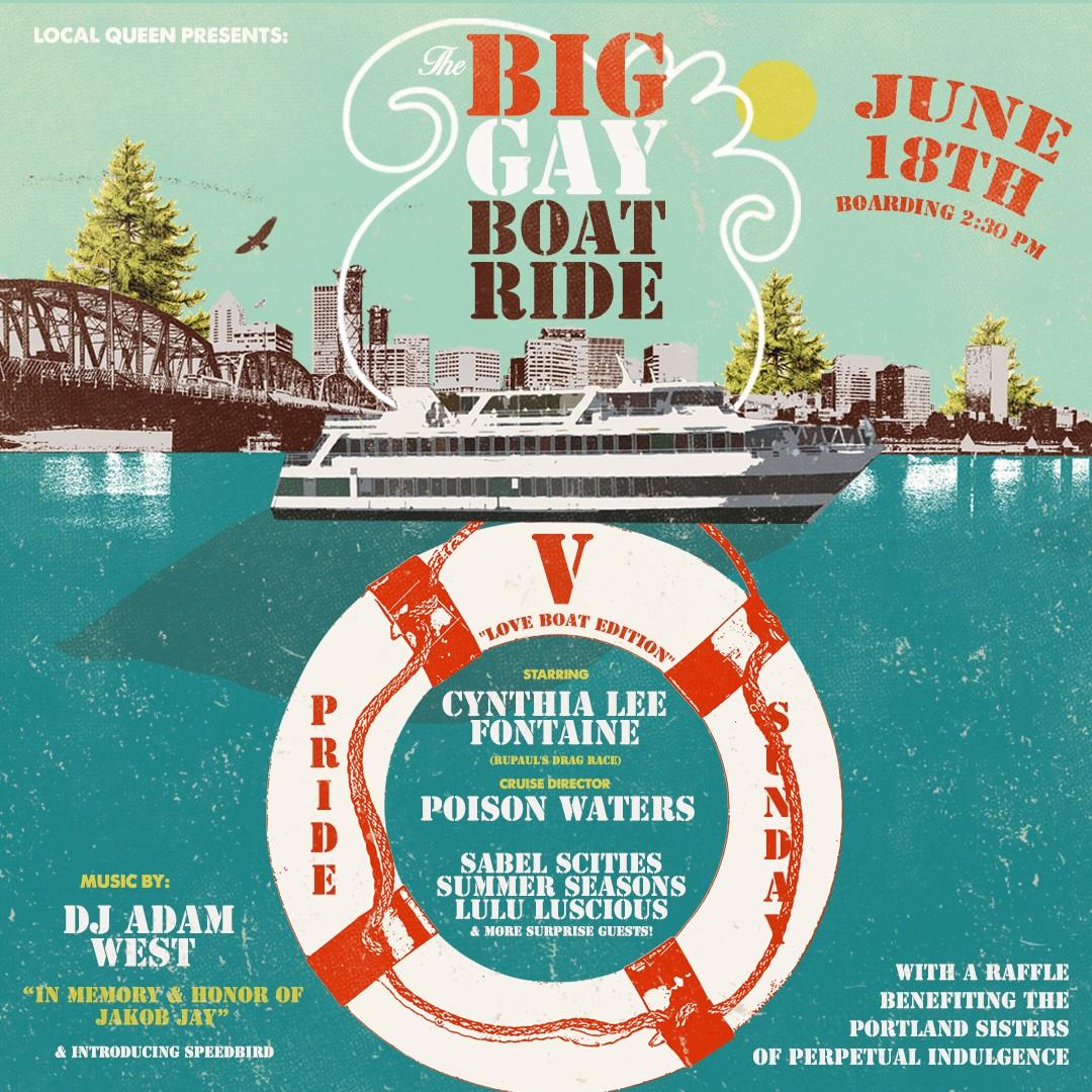 Gay Docking Pics throughout big gay boat ride v: the love boat! tickets | portland spirit