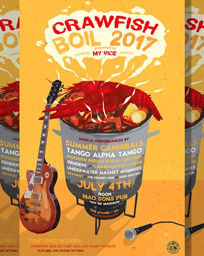 2017 Annual Crawfish Boil Tickets