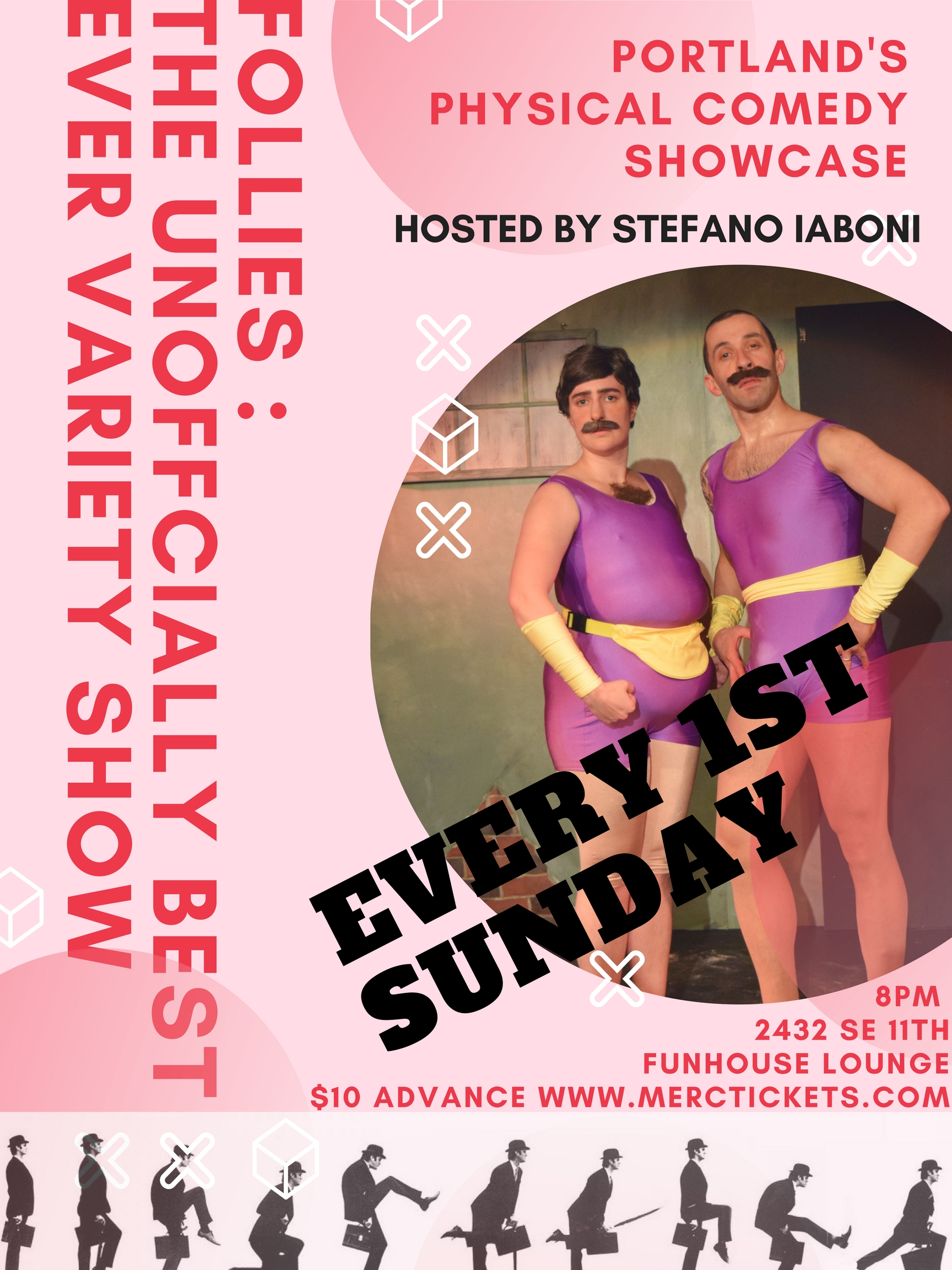 Follies-The Unofficially Best Ever Variety Show Tickets | The Funhouse  Lounge | Portland, Or | Sun, May 6, 2018 at 8pm | Mercury Tickets