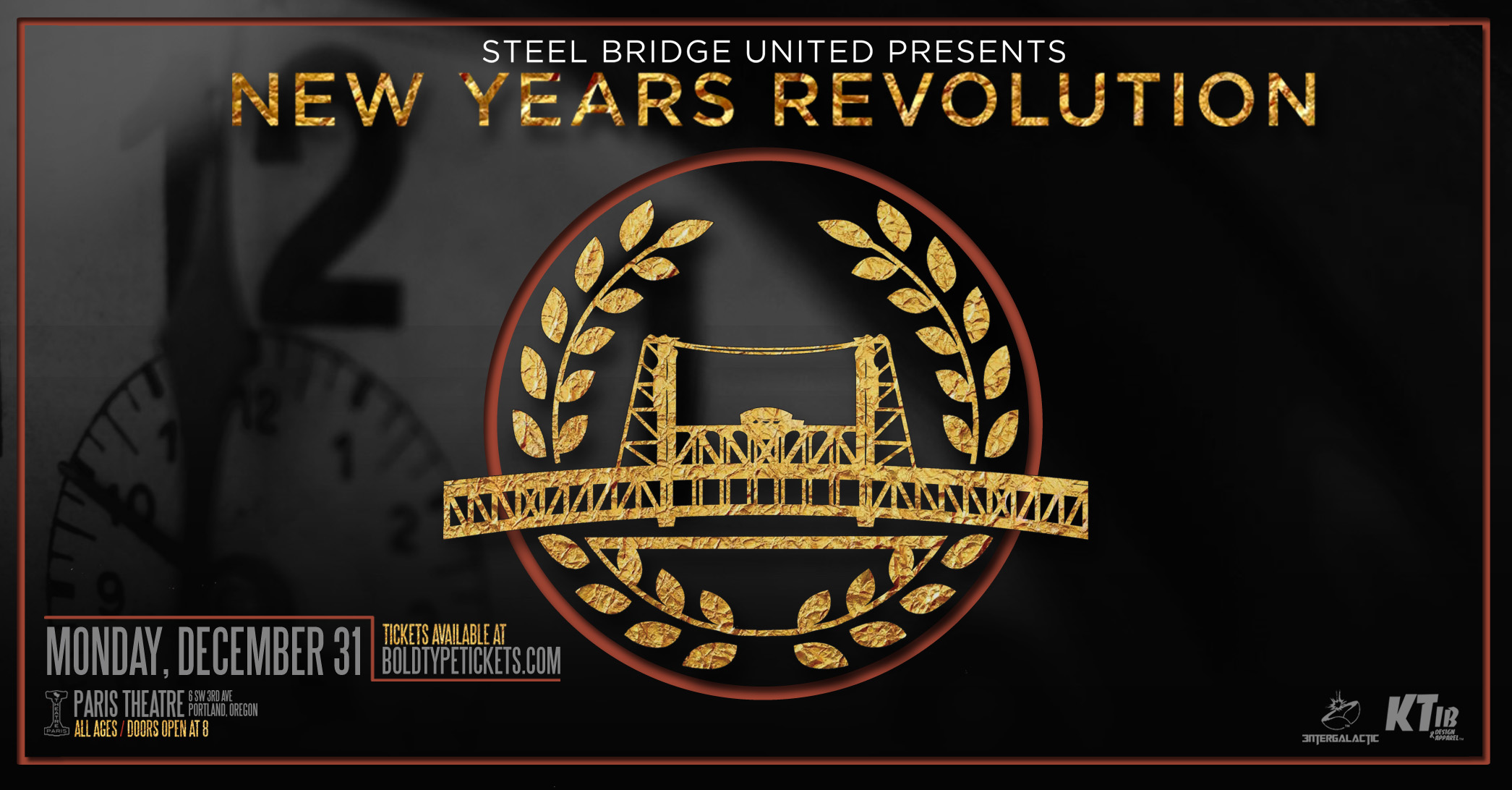 New Year's Revolution Tickets | Paris Theatre | Portland, OR